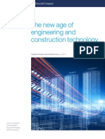 The New Age of Engineering and Construction Technology