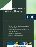 Acidfast Staining July 26,2017