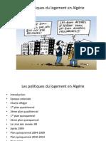 Les Politiques Du Logement en Algérie - Copie