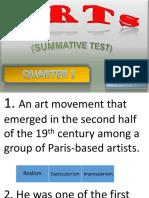 Summative Test q1 Music g10