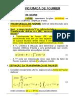 Exemplos Transformada de Fourier