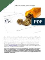 Uso Medico Della Cannabis