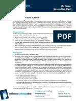 Melbourne Radiology Cortisone Factsheet 2012
