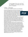 Variedades Da Canao Processo de Fabricacao Do Acucar e Do Alcool