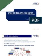 NPCI DBT Presentation