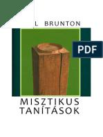 Paul Brunton-Misztikus tanítások.pdf