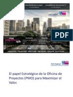 4 El Papel Estrategico Oficina de Proyectos PMOpara Maximizar El Valor de Las Inversiones Baruch Herrera