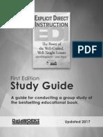EDI 1st Edition Study Guide Handout