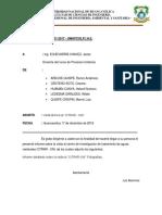 Procesos Unitarios - Informe Citrar Unii