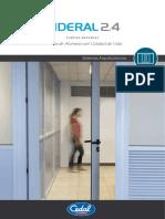 Catálogo - Tradicional - Puerta Batiente Sideral 2.4 V1.0