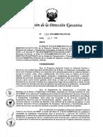 Lineamientos de Prevención y Atención del Síndrome Agotamiento Profesional - MIMP