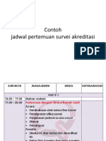 contoh jadwal saat survei akreditasi.pptx
