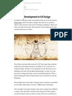 Soft Skills Development in UX Design – Ian Armstrong – Medium