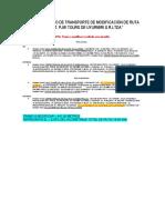 Datos Para La Modif. de La e.t Pjw Tours de Uyurmiri