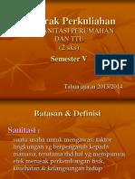 1. KP Sanitasi Perumahan & TTU 2013