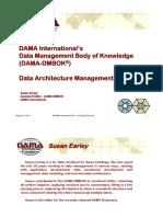 DAMA Indiana Data Architecture Management
