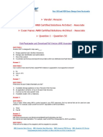 AWS Certified Solutions Architect - Associate Exam Dumps With PDF and VCE Download (1-50)