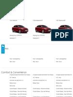 Ford Figo Aspire Comparison
