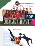 Reglas de Micro Futbol