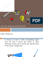 Fire Hose, Streams, And Appliances