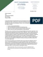 Lathrop 2012 November Letter From Alderman Waguespack