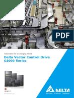 DELTA Vector Control Drive C2000 Series_20161025