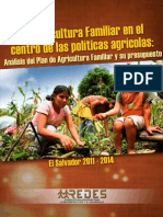 Analisis Plan Agricutura Familiar