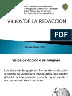 Vicios de La Redaccion Presentacion