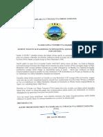 Taarifa ya Raia 16 waliodaiwa kupita katika Jengo la VIP kwenye Kiwanja cha Ndege cha Kimataifa cha Julius Nyerere (JNIA).