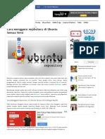 Cara Mengganti Repository Di Ubuntu Semua Versi