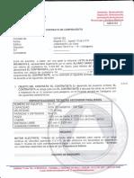 Contrato Elevador Urbanizacion Los Alpes