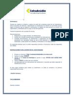 Instructivo Coordinacion y Supervision Postulante Externo