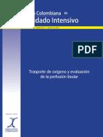 Transporte de Oxigeno y Evaluación de La Perfusion Tisular - Acta Colombiana de Cuidado Intensivo (Vol 14 Supl 1 - Marzo 2014)