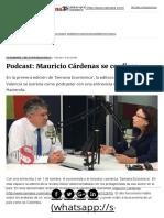 Podcast_ Mauricio Cárdenas Se Confiesa