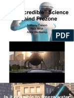 frozone chemistry project