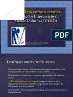 15. Cervicalgia Común Crónica DIMD