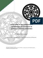 La_necesidad de Una Fundamentación Espistemologia en La Formación de Docente