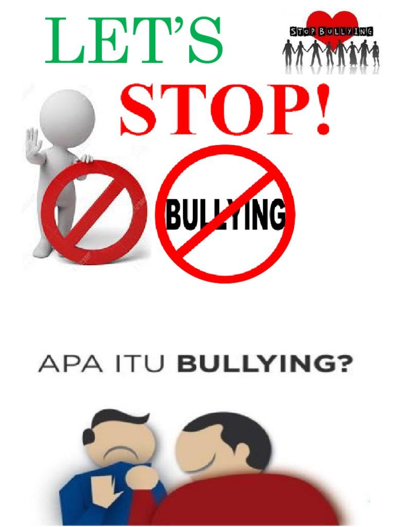 Gagasan Untuk Poster Bullying Kartun - Koleksi Poster