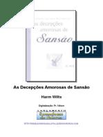 As Decepções Amorosas de Sansão - Harm Wilts.doc