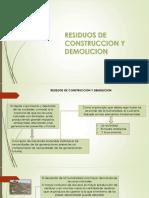 11. Residuos de Construccion y Demolicion