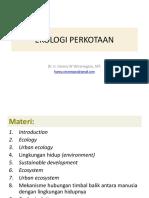 Introduction Ekologi Perkotaan
