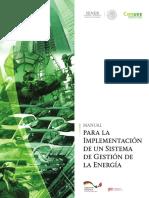 Manual Para La Implementación de Un Sist de Gestion de La Energía CONUEE GIZ