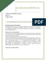 Cuestionario Reconocimiento de Los Matpel. Deybi Narezodocx