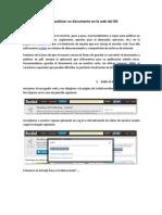 Cómo publicar un documento en la web del IES