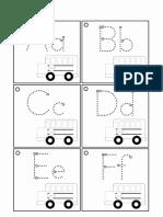 alfabetul carduri