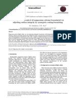 Biodegradation Control of Magnesium Calcium Biomaterial via Adju 2014 Proced