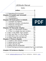 Led Studio User Manual
