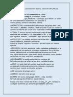 II Diccionario