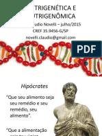 Nutrigenetica e Nutrigenomica 160219132427