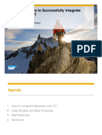 2310 Six Best Practices to Successfully Integrate Business and IT